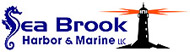 Seabrook Harbor and Marine Logo