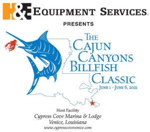 2021 Cajun Canyons Billfish Tournament Logo
