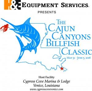 Cajun Canyons Billfish Classic 2016 Logo
