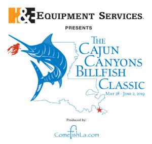 Cajun Canyons Billfish Classic 2018 Logo